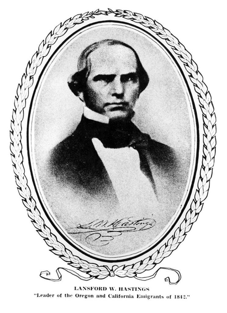 Portrait of Lansford Hastings